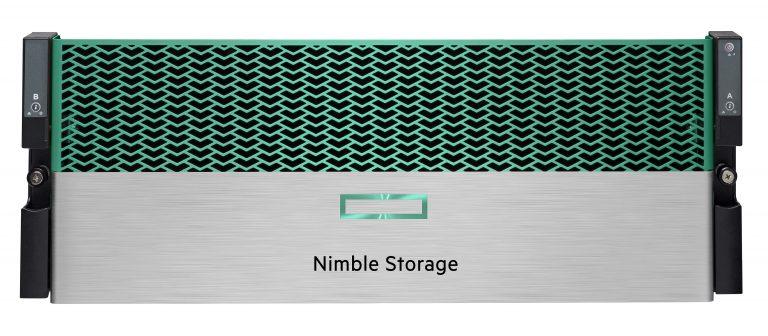 HPE Nimble Storage All Flash Arrays face